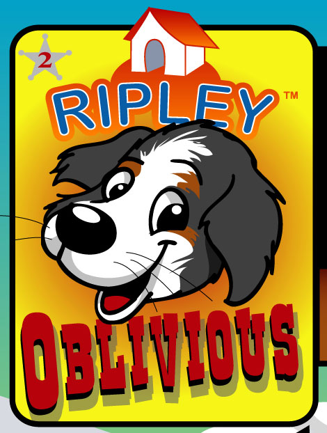 oblivious graphics for ripley the dog